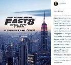Fast and Furious 8 : le film se dévoile dans une première affiche