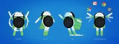 Android Oreo, de Google, compatible avec les smartphones de certaines marques