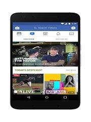 Watch de Facebook, une plateforme video de la societe pour ses utilisateurs