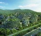 Liuzhou Forest City, une ville végétalisée en Chine