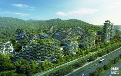 Liuzhou Forest City, un moyen de lutter contre la pollution en Chine