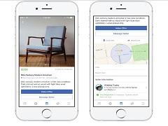 Marketplace, une plateforme de Facebook pour le commerce d objets en ligne
