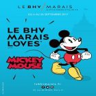 Mickey Mouse sera honoré au magasin BHV Marais