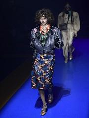 Fashion Week de Milan, le defile de mode de la maison italienne Gucci