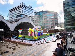 Festival de design de Londres, les installations creees par les artistes