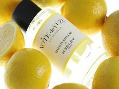 Note de Yuzu, un parfum du createur James Heeley pour Maison Kitsune