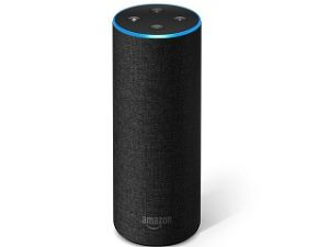Echo, l enceinte connectee d Amazon activee par l assistant vocal Alexa