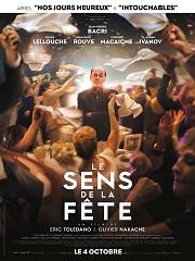 Le Sens de la fete, comedie de 2 realisateurs avec Jean Pierre Bacri au cinema