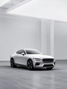 Polestar 1, une voiture hybride rechargeable de la nouvelle marque de Volvo