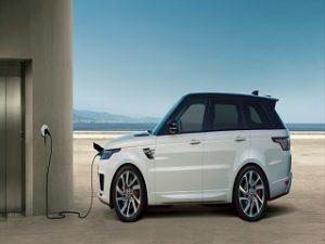 Range Rover Sport PHEV, vehicule hybride rechargeable du constructeur automobile