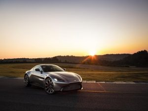 Aston Martin Vantage 2018, une voiture de sport du constructeur automobile