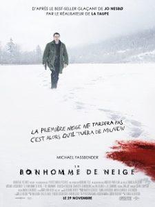 Le Bonhomme de neige, film de Tomas Alfredson avec Michael Fassbender au cinema