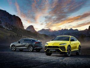 SUV Urus de Lamborghini, vehicule puissant du constructeur automobile italien