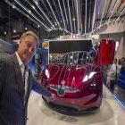 EMotion, la voiture électrique de Fisker a été dévoilée au CES 2018