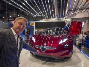 Fisker EMotion, voiture electrique haut de gamme devoile au CES 2018