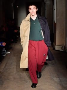 Gosha x Burberry, collection de pret a porter pour homme de la maison de mode