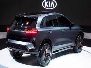 Kia Niro EV Concept, un SUV compact electrique devoile au CES 2018