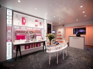 Lancome ouvre une boutique ephemere dediee a son parfum La Vie est Belle