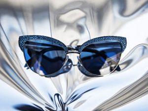 Atelier Swarovski, ligne de lunettes ornees de cristaux avec le groupe Marcolin