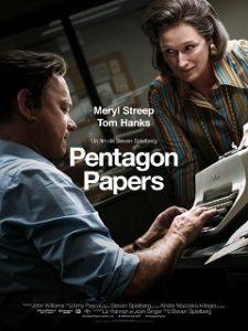 Pentagon Papers, film dramatique de Steven Spielberg avec Tom Hanks au cinema
