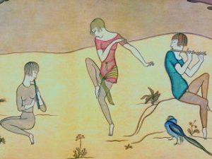 Tsuguharu Foujita, le peintre au centre d une exposition au musee Maillol