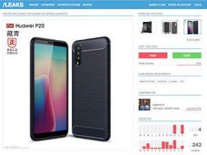 Huawei P20, smartphone du constructeur chinois dote d un triple capteur photo