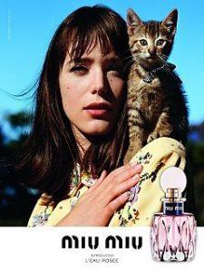 La fragrance L Eau Rosee de Miu Miu, la maison italienne sort son nouveau parfum