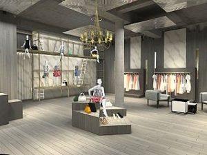 Pop up store de Rochas a Paris, la maison parisienne ouvre une boutique ephemere