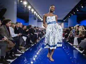 Ralph Lauren, le createur, un defile nautique pour sa collection printemps ete