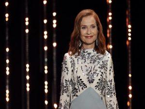 Isabelle Huppert, le prix Europe pour le theatre offert a l actrice a Rome