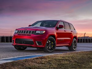 Jeep Grand Cherokee Trackhawk, SUV du constructeur automobile avec moteur V8