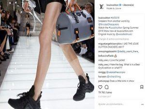 Louis Vuitton, boutique ephemere dediee au sneaker Archlight a New York
