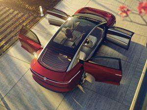 Volkswagen I D Vizzion, un concept car electrique et autonome