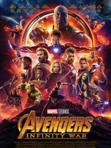 Avengers Infinity War, film d action avec Robert Downey Jr et Chris Evans
