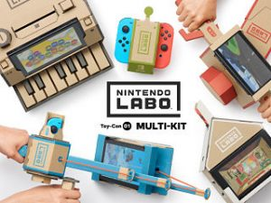 Jeux video, le jeu Nintendo Labo parmi les sorties videoludiques sur consoles