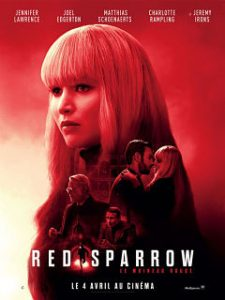 Red Sparrow, un thriller avec Jennifer Lawrence et Joel Edgerton au cinema