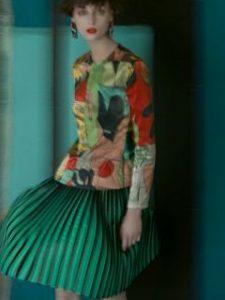 Sarah Moon s associe a Giorgio Armani, la photographe fait une campagne