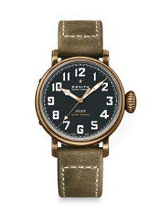 Pilot Type 20 Extra Special 40 mm, montre de Zenith au boitier en bronze