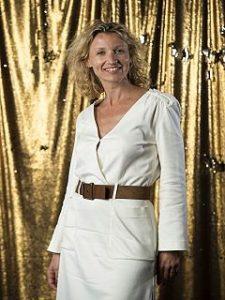 Alexandra Lamy au musee Grevin, l actrice a eu droit a une reproduction en cire