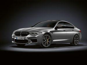 BMW M5 Competition, berline avec un moteur V8 et des reglages sportifs
