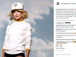Coco Neige de Chanel, une ligne de vetements pour les sports d hiver