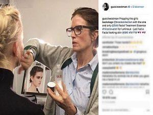 Gucci Westman, la maquilleuse lance une collection de produits de beaute