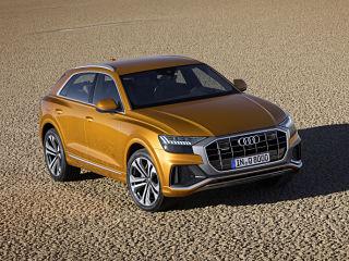 Audi Q8, SUV avec aides a la conduite et equipement technologique