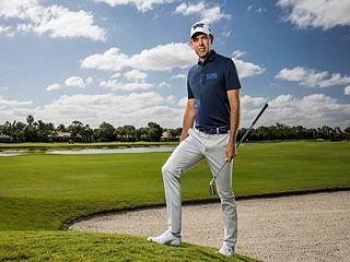 Michael Kors et Charl Schwartzel, la marque de pret a porter recrute le golfeur