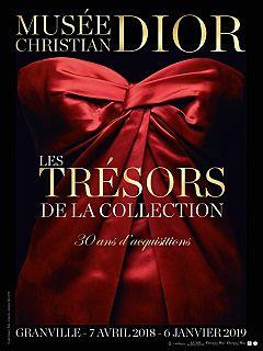 Christian Dior, exposition au musee devoilant le patrimoine de la maison