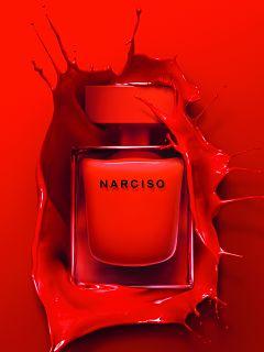 Narciso Rouge, parfum feminin musque du styliste americain Narciso Rodriguez