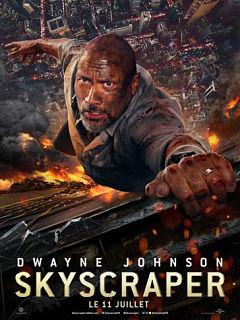 Skyscraper, un thriller avec Dwayne Johnson, sa bande annonce cartonne