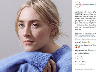 Women, parfum de Calvin Klein, Saoirse Ronan et Lupita Nyong o sont les egeries