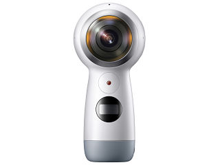 Samsung Gear 360, camera avec une application mobile et une batterie inamovible