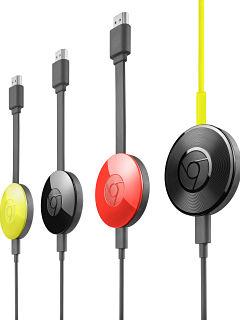 Google Chromecast, objet connecte pour contenus multimedias sur smartphones